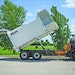 New Way side-loader organics collection truck