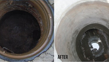 Manhole Rehabilitation System Solves Toughest Lining Jobs