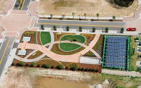 Ultra-Green Development Uses Oldcastle Precast Stormwater Management System and Belgard Pavers
