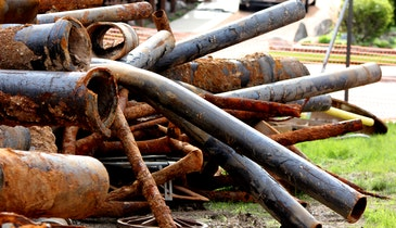 City Finds Good in Old Pipe