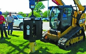 Plug Hug Attachment Easily Cleans and Clears Hydrants