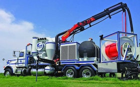 Jet/Vac Combination Trucks/Trailers - Stand-alone cleaning combination truck