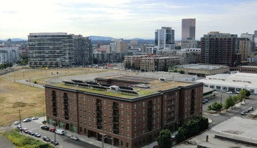 Green roof incentives boost stormwater management in Portland