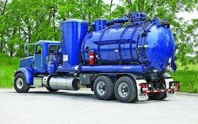 Industrial Vacuum Trucks - Wet/dry vacuum loader