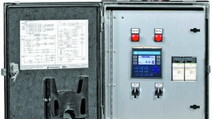 Flow Control/Monitoring Equipment - Pump control panel