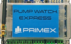 Control Panel - PRIMEX Pump Watch Express