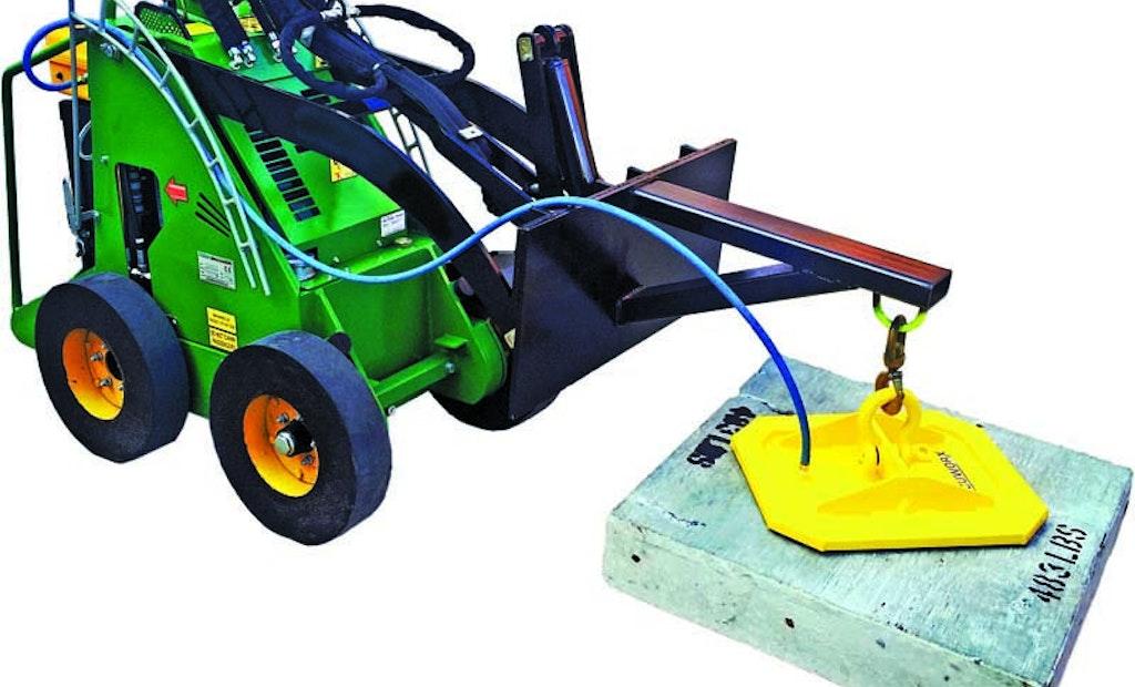 Vacuworx PS 1 Vacuum System Eliminates Heavy Manual Lifting