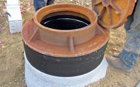 Cretex provides a lighter option for manhole grade adjustment