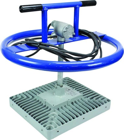 LED Manhole Light Rated For Safe Use Around Sewer Gas And Dust