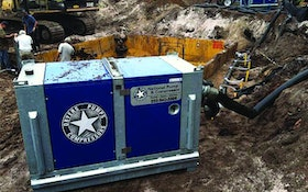 Wellpoint Pump Offers Fuel Economy, Low Noise Operation