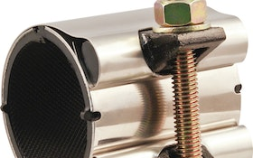 Dual-Armor Wrap Clamp takes guesswork out of pipe repairs