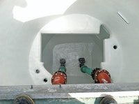 Two-component system provides single-day manhole rehabilitation