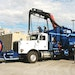 Polston combination truck pumps and separates  submerged debris