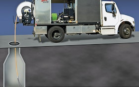 Vacall packs power in efficient jetting truck