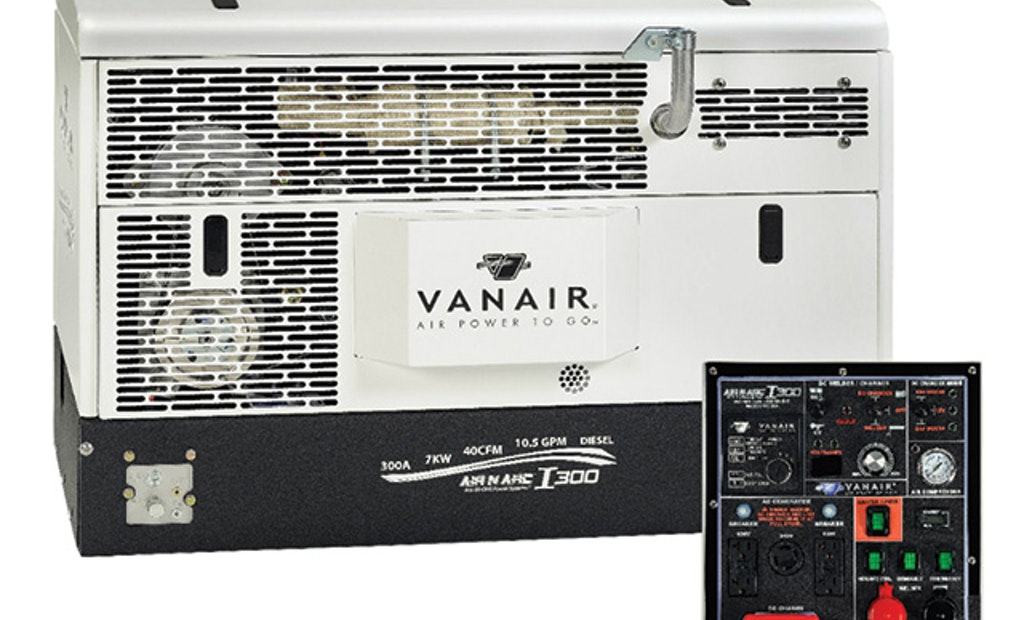 Vanair combines six forms of power in one unit
