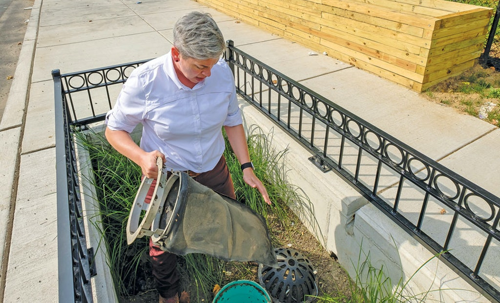 Absorbing the Impact of Stormwater