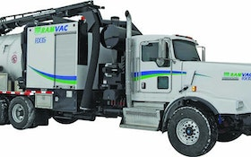Jet/Vac Combination Trucks/Trailers - Conventionally sized hydroexcavator