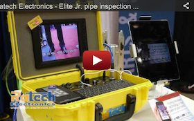 Ratech Electronics - Elite Jr. pipe inspection camera - 2012 Pumper & Cleaner Expo