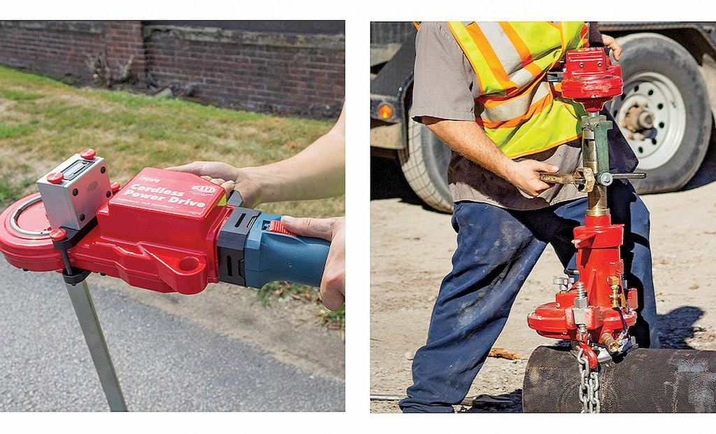 Reed Manufacturing Cordless Power Drive