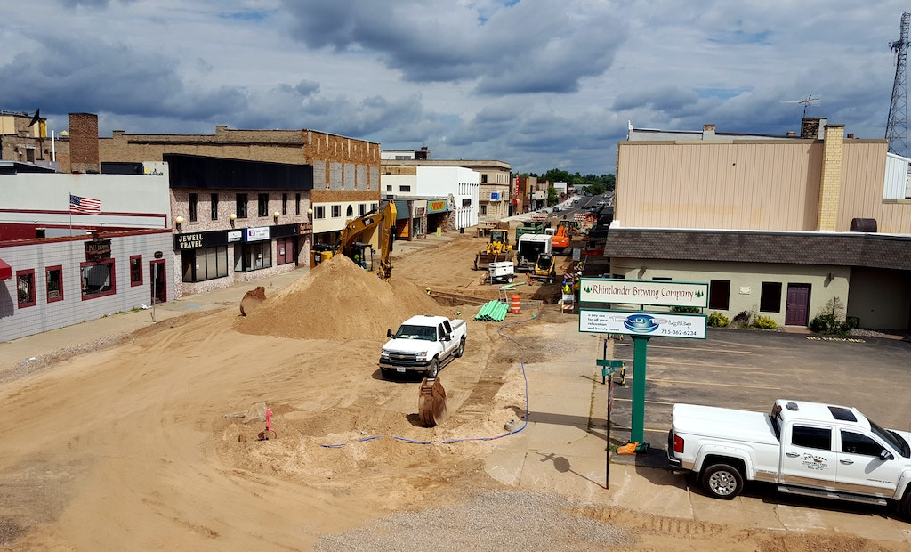Moving Down the Street: A Look at the Rhinelander Downtown Streetscape Project