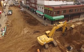 A Bird's-Eye View of the Rhinelander Streetscape Project