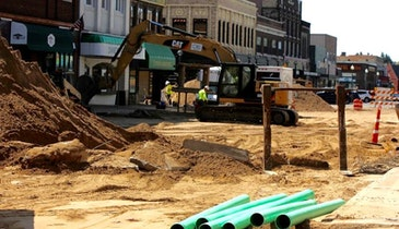 Update: Rhinelander Sewer and Water Project Hits Halfway Point