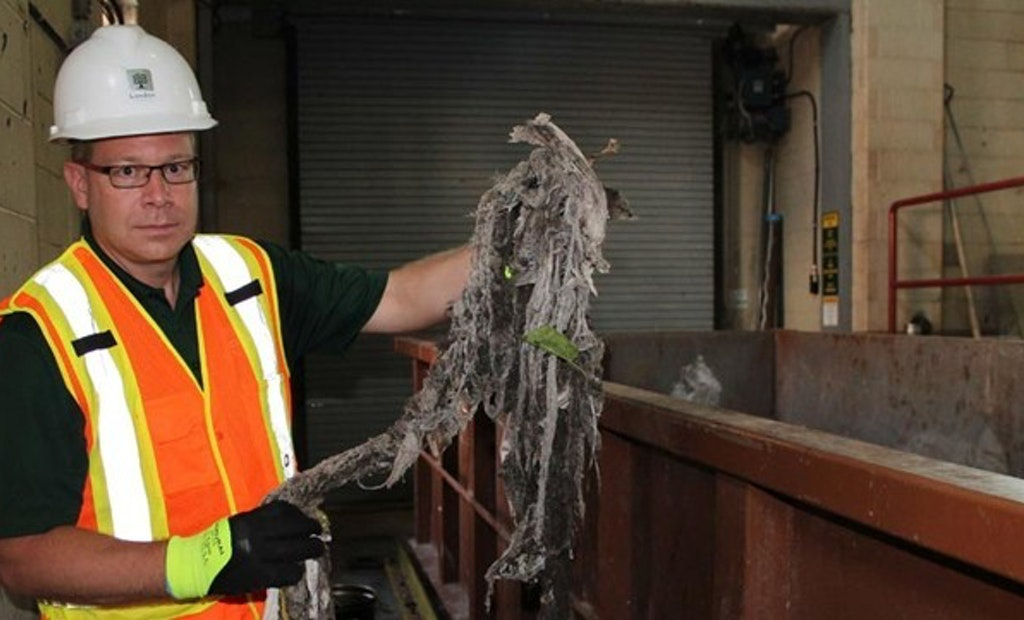 New Study Confirms 'Flushable' Wipes Don't Disperse in Sewer Systems