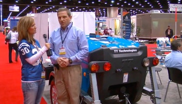 TT Technologies - 3.3-ton pipe-bursting lining winch