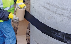 Manhole Rehabilitation - Sealing Systems Infi-Shield Gator Wrap