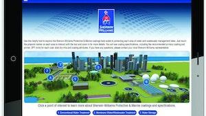 Sherwin-Williams interactive coatings app