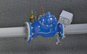 Singer Valve battery-operated electromagnetic flowmeter