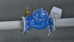 Singer Valve battery operated SPI-MV flowmeter