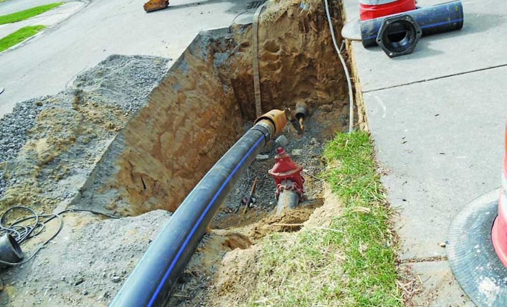 Pipe Bursting in Bloomfield