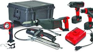 Snap-on cordless tool kit