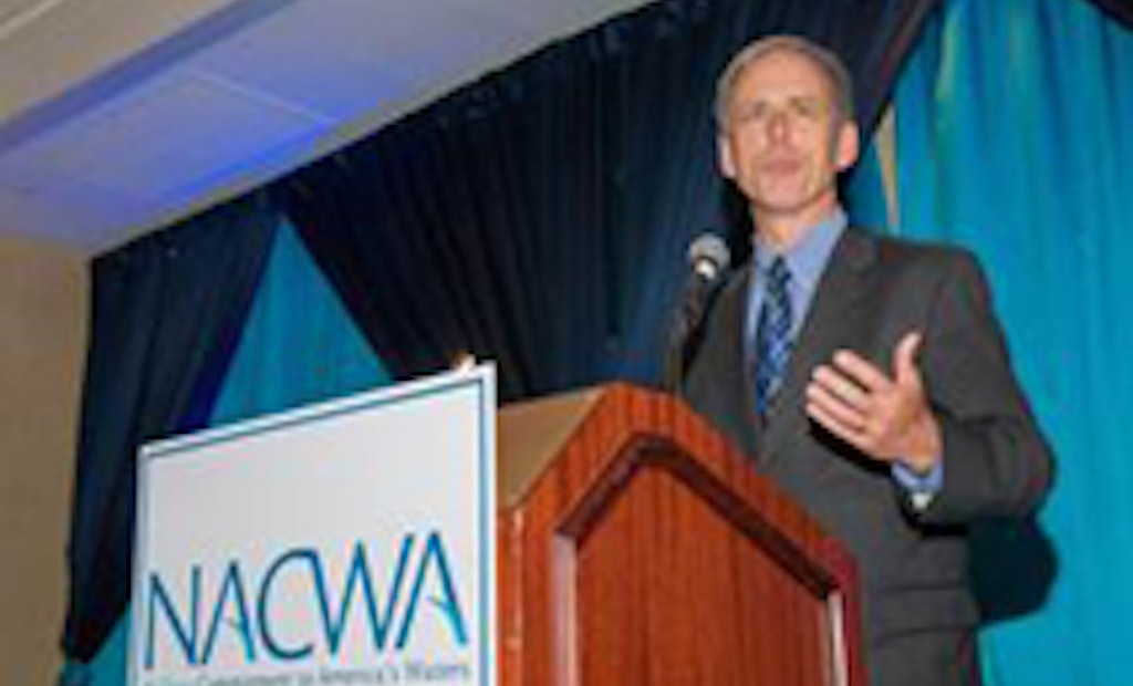 Former Metropolitan St. Louis Sewer District's Executive Director Honored by NACWA