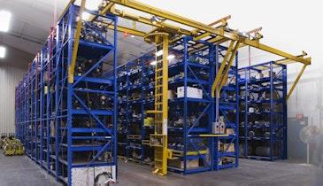 Stanley Vidmar STAK System Efficiently Manages Vertical Storage
