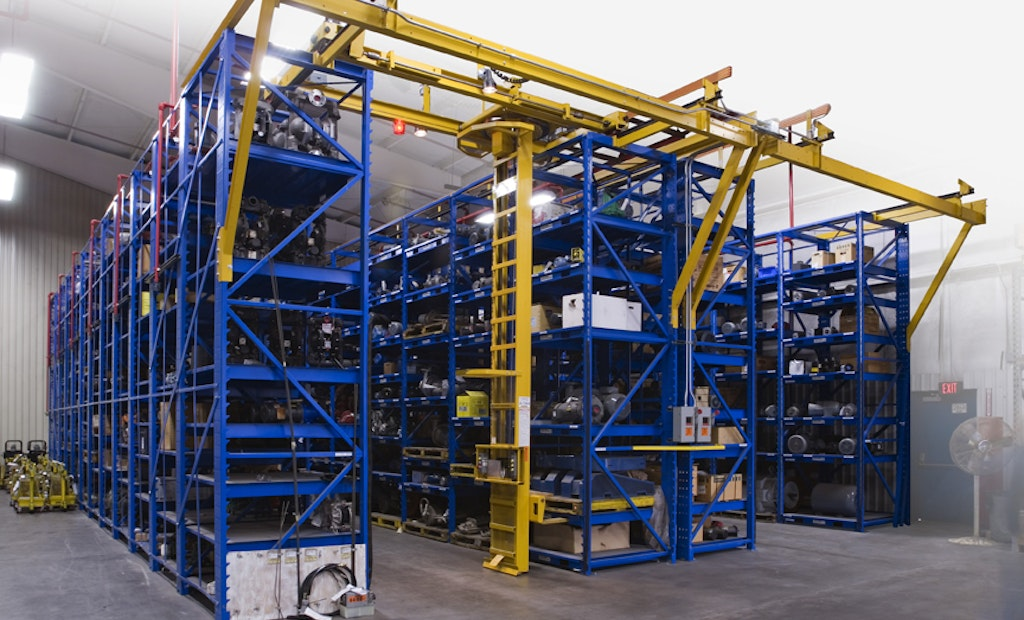 Stanley Vidmar STAK System Efficiently Manages Vertical Storage