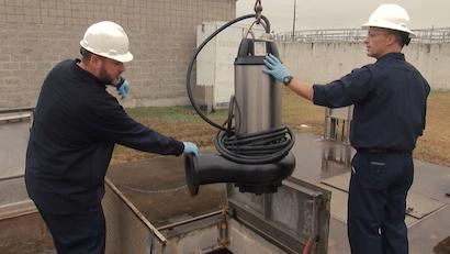 Submersible Wastewater Pumps Help Operators Meet Demand