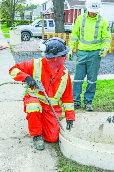 Wastewater Utility Carves Collections System Out of Rock