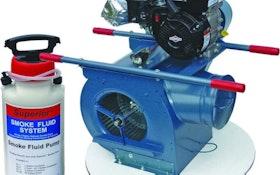 Smoke Locators - High-output smoke fluid system