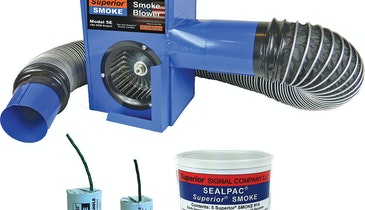 Superior 5E Electric Smoke Blower Finds Faults, Odors, Leaks and Inflow