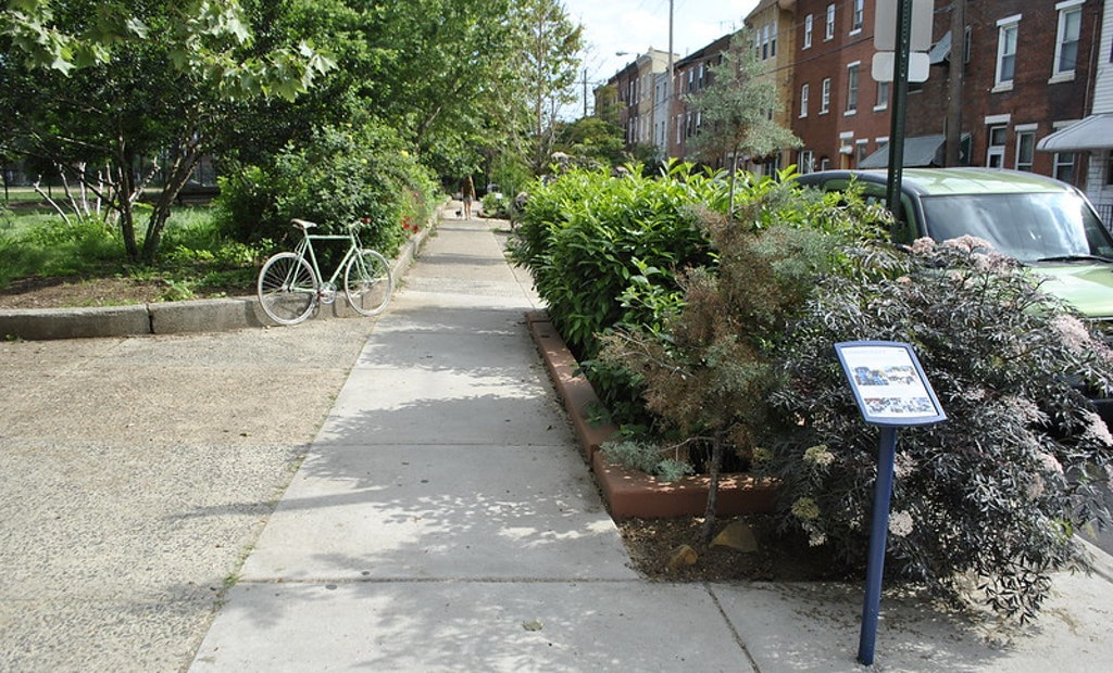 Philly's Greened Acres Alleviate CSO Burden on Subterranean Streams