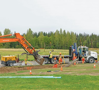 Prince George Makes Operational and Environmental Improvements