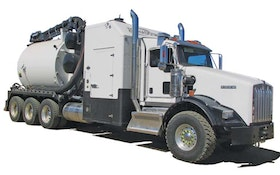 Jet/Vac Combination Trucks/Trailers - Tornado Global Hydrovacs F3-ECO