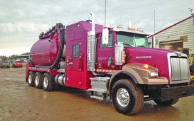 Jet/Vac Combination Trucks/Trailers - Large-capacity hydrovac