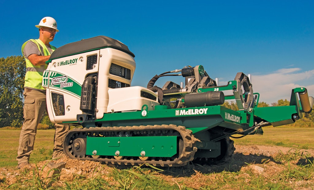 Fuse in tight spots with McElroy interchangeable-carriage line  of fusion machines
