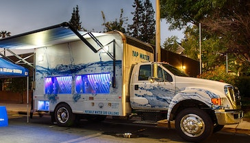 Tap Water Express Delivers Important Message