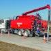 Industrial Vacuum Trucks - Combination sewer cleaner