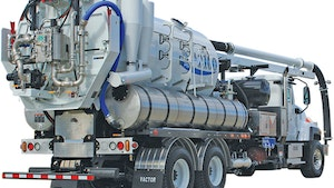 Vactor Manufacturing water recycling system
