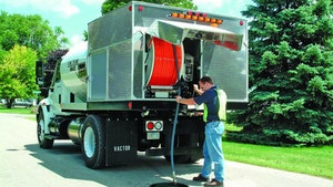 Truck/Trailer/Portable Jetters - Truck-mounted sewer jetter